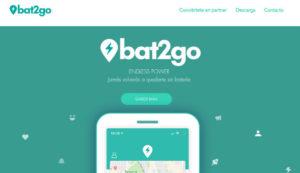 BAT2GO, red de alquiler de baterías para móvil