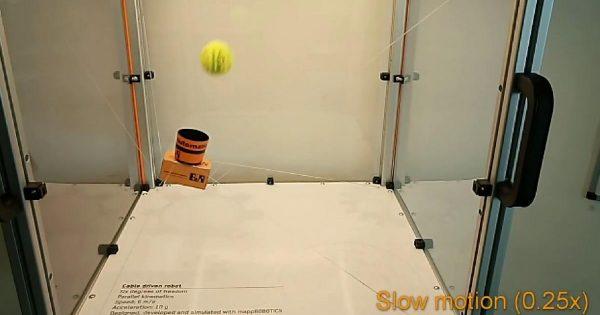 Este robot es capaz de hacer alucinantes malabares