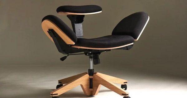 Beyou, la silla 10 en 1 que te permite sentarte de diez formas distintas