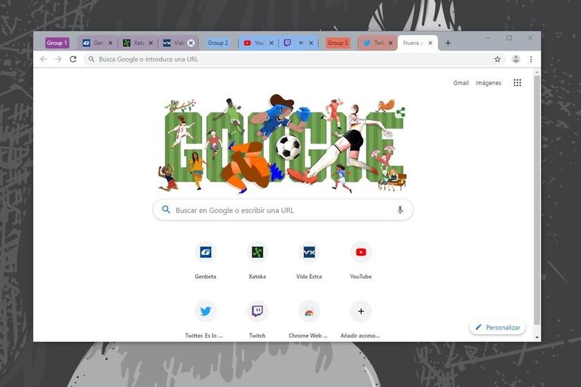 Google Chrome prueba el guardado de grupos de pestañas en Canary: así puedes experimentar con esta nueva función